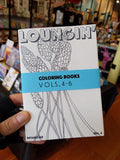 Loungin' Coloring books Vol. 4-6 by Groove & Haze