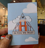 In Fog We Trust - Greeting Card by Sarah Duyer