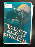 Zine: We Figure You Need A Little Help by Kyle Trager