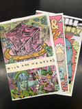 Zine Combo Pack: Milk & Honey Anthology Issues 1-3