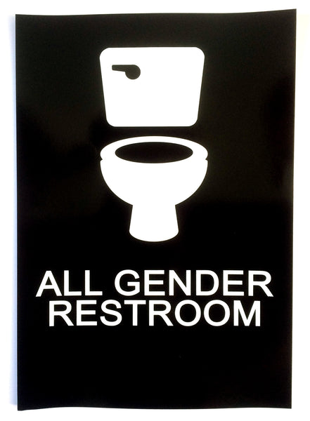 All Gender Restroom Sticker