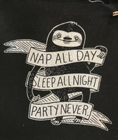 Patch: Nap All Day Sloth by Nation of Amanda