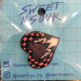Sweet 'N Sour Shrinky Dink Pin