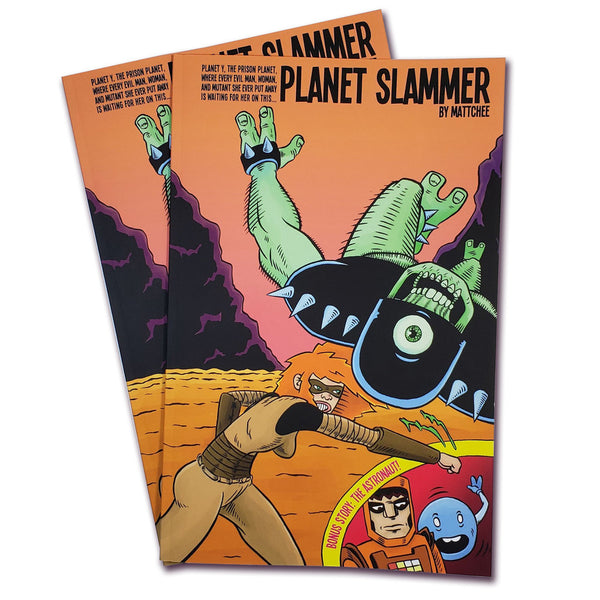 Planet Slammer #1 by Matt Chee