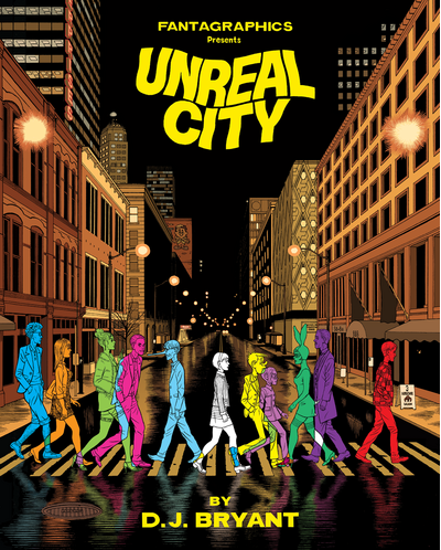 Unreal City by D.J. Bryant