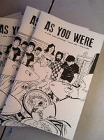 As You Were #1: House Shows Anthology