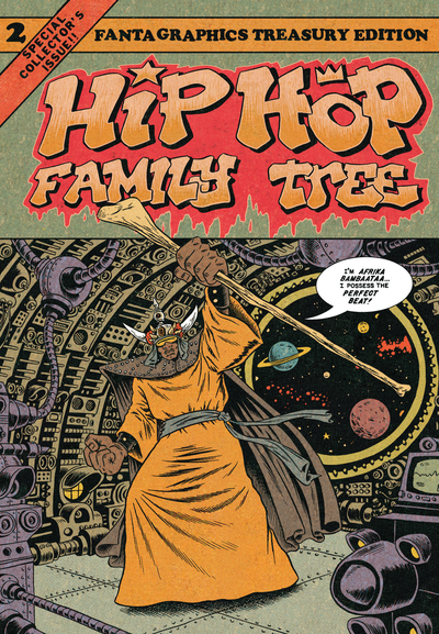 Hip Hop Family Tree Vol. 2 by Ed Piskor