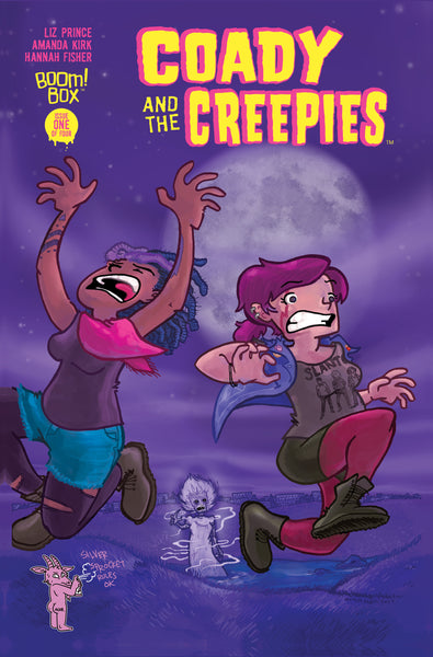 Coady and the Creepies #1 exclusive variant (comic book)