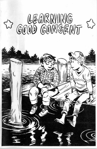Zine: Learning Good Consent by Cindy Crabb