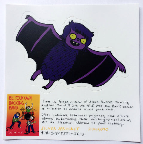 Sticker: Bat by Liz Prince