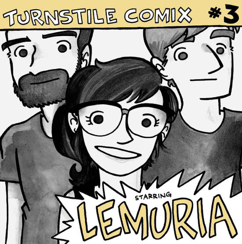 Turnstile Comix #3: Lemuria - EP+Comic Book (Yellow Creme/1,000)
