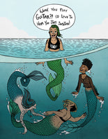 "Print: ""Siren School"" by Isabella Rotman"