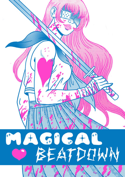 Magical Beatdown by Jenn Woodall (comic)