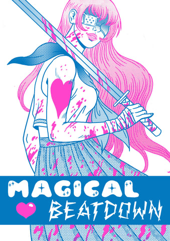 Magical Beatdown by Jenn Woodall (comic) BACKORDER
