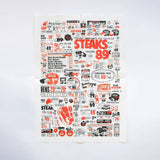 Print: Steak by Patrick Perkins
