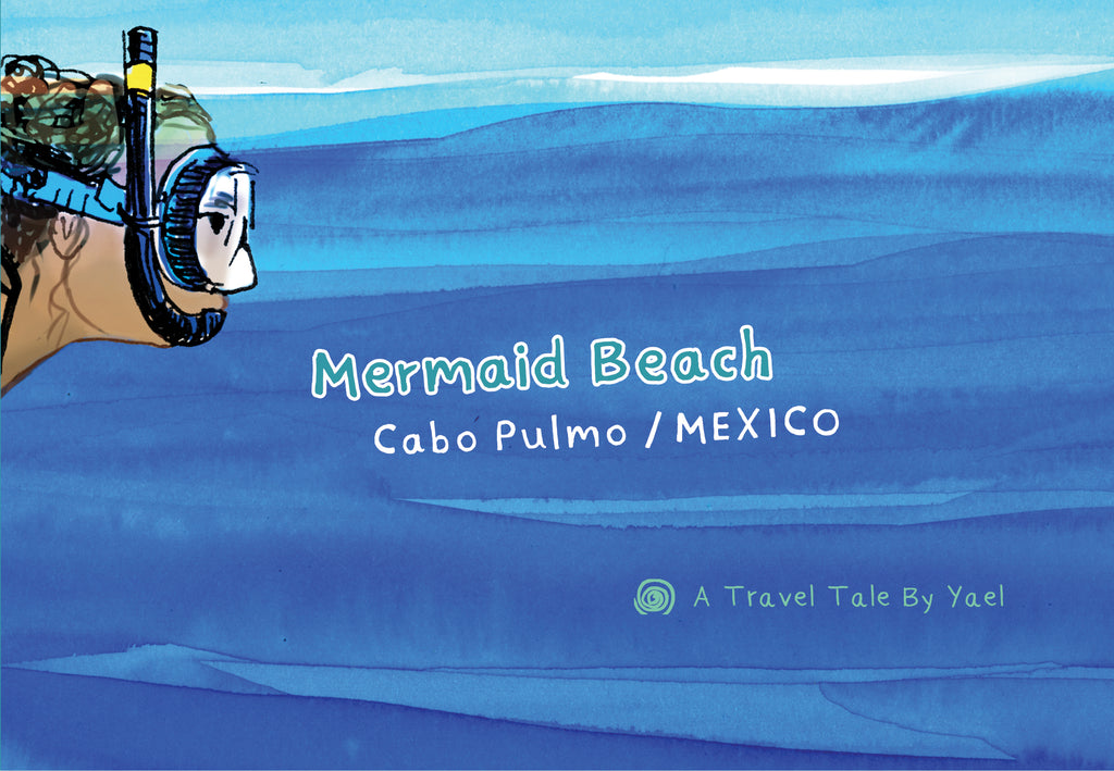 Mermaid Beach (Cabo Pulmo) by Leah Yael Levy