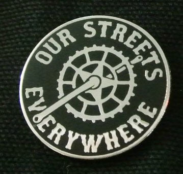 Enamel Pin: Our Streets! by JXRXKX