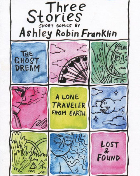 Zine: Three Stories by Ashley Robin Franklin