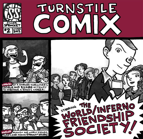 Turnstile Comix #2: The World Inferno Friendship Society - EP+Comic Book (Whiskey/550)
