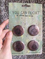 Pin Pack: You Can Float by Lindsay Watson
