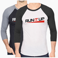 Run It Up Baseball T-shirt