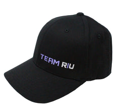 Team RIU Flexfit Hat with Purple Logo