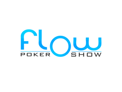 Flow Poker Show Sticker