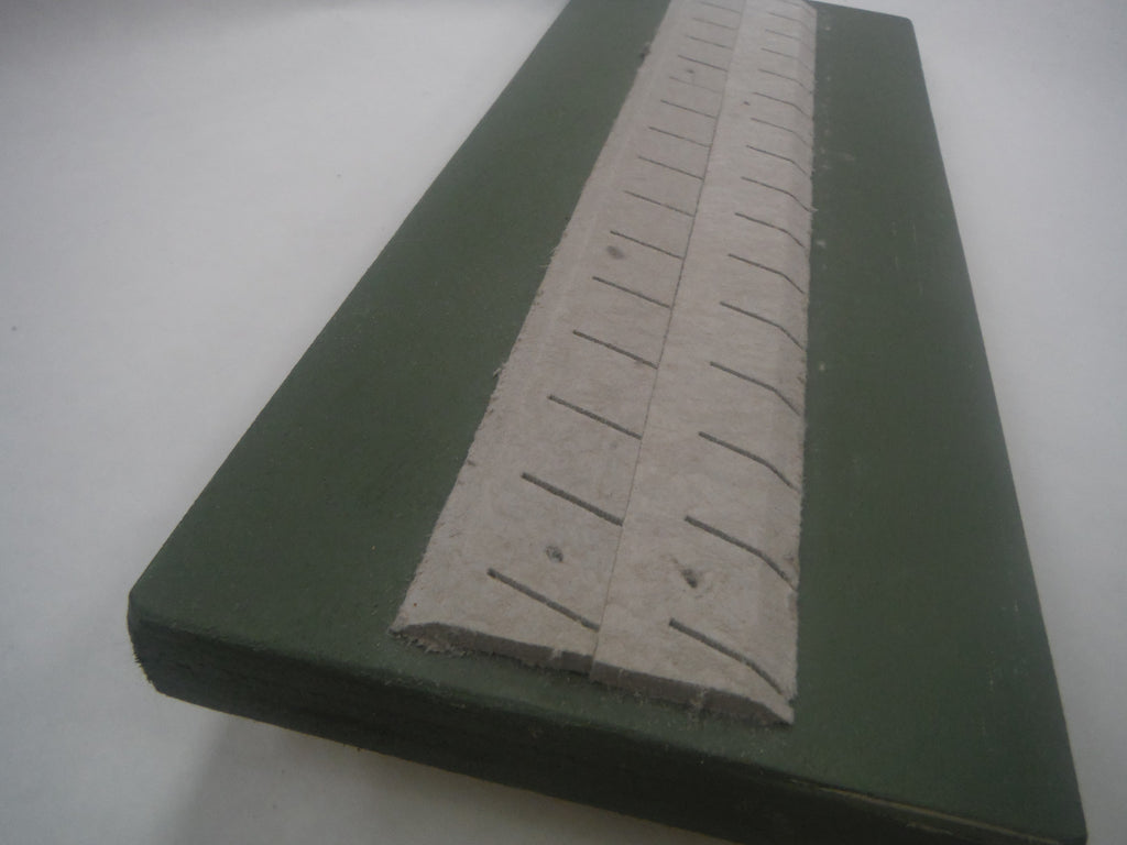 "Main Line (18""high) roadbed, HO scale, 30 degree shoulders, 8'"