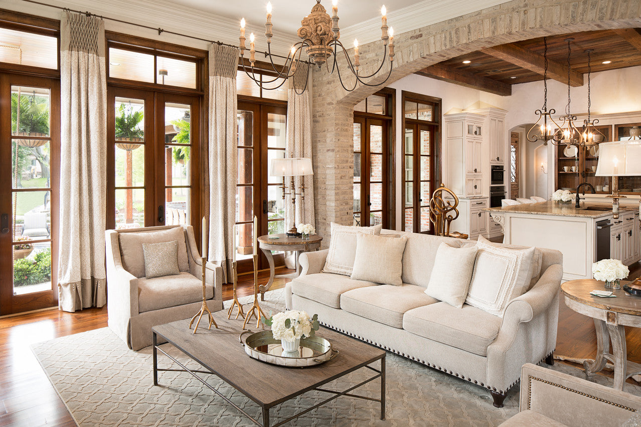 Jodi Bolgiano Custom Interiors Transitional Living Room