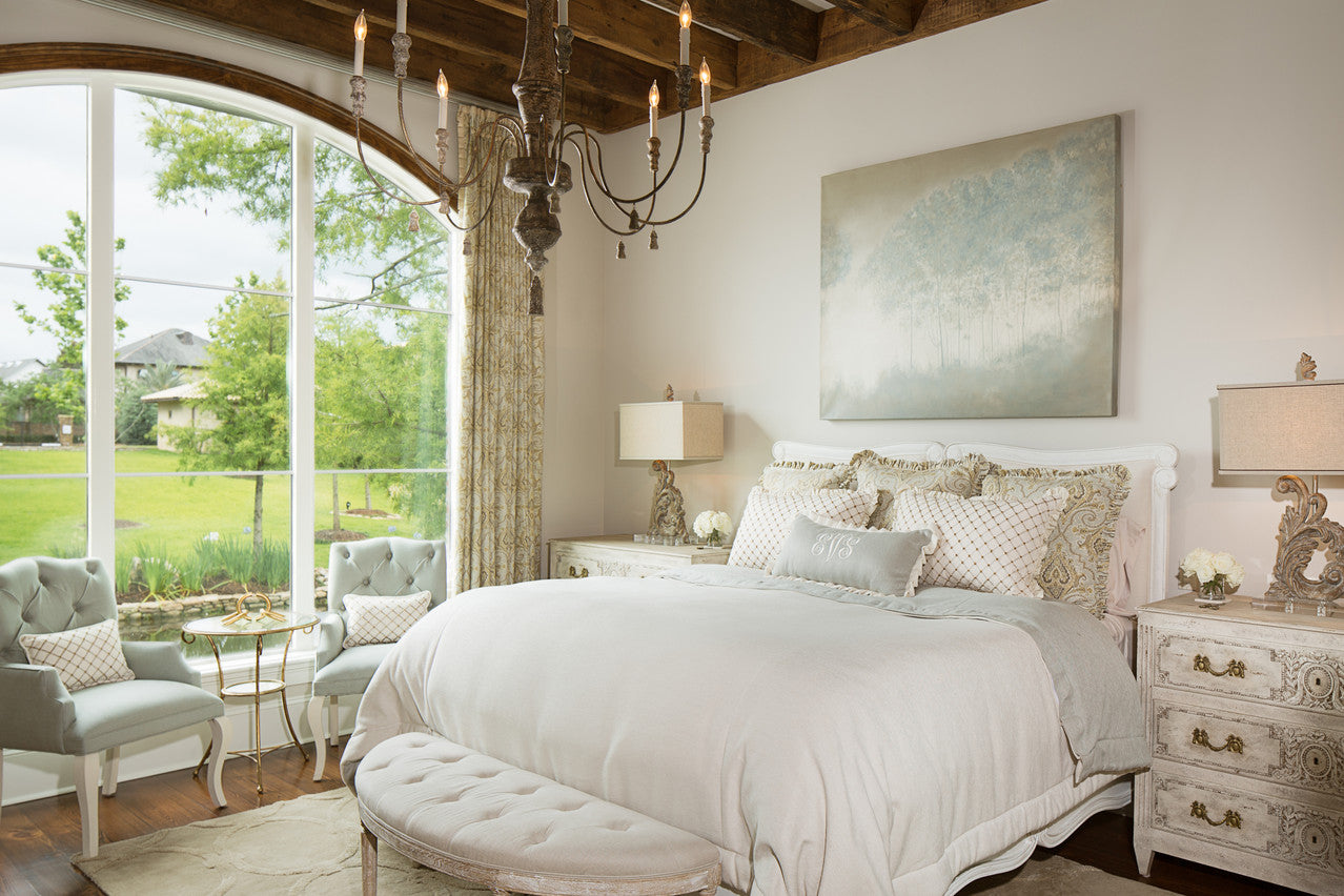 Jodi Bolgiano Custom Interiors Soft Tone Bedroom