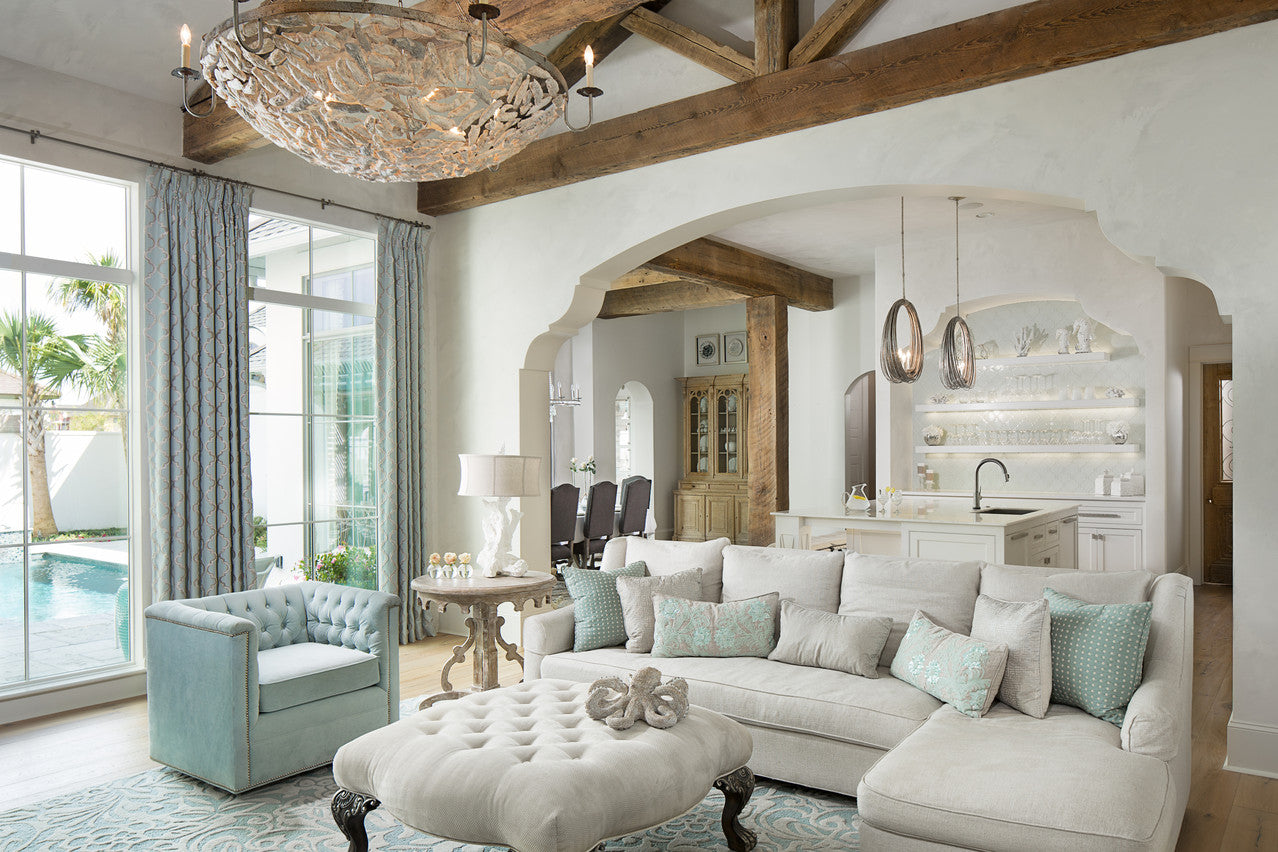 Jodi Bolgiano Custom Interiors Coastal Living Room