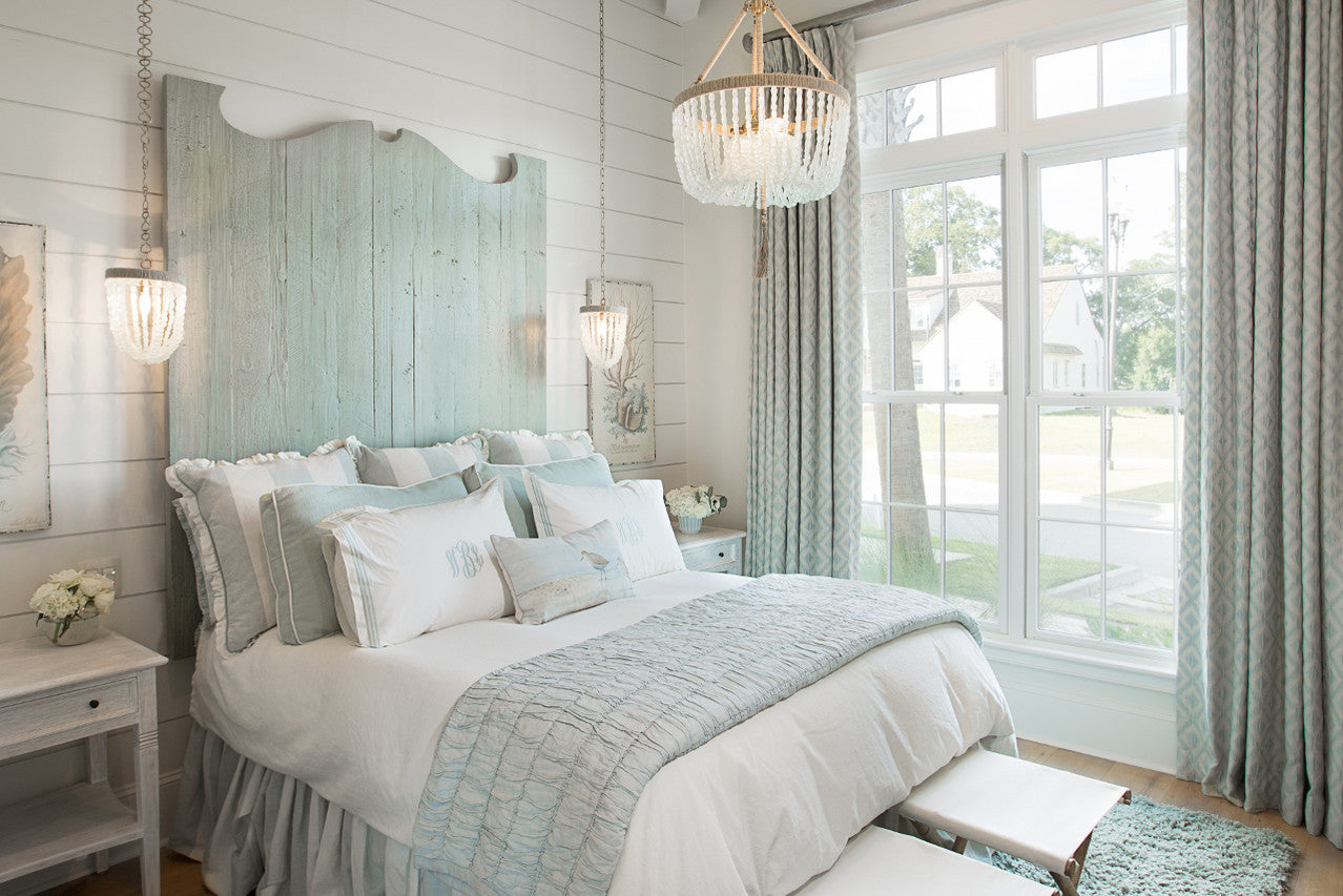 Jodi Bolgiano Custom Interiors Coastal Bedroom