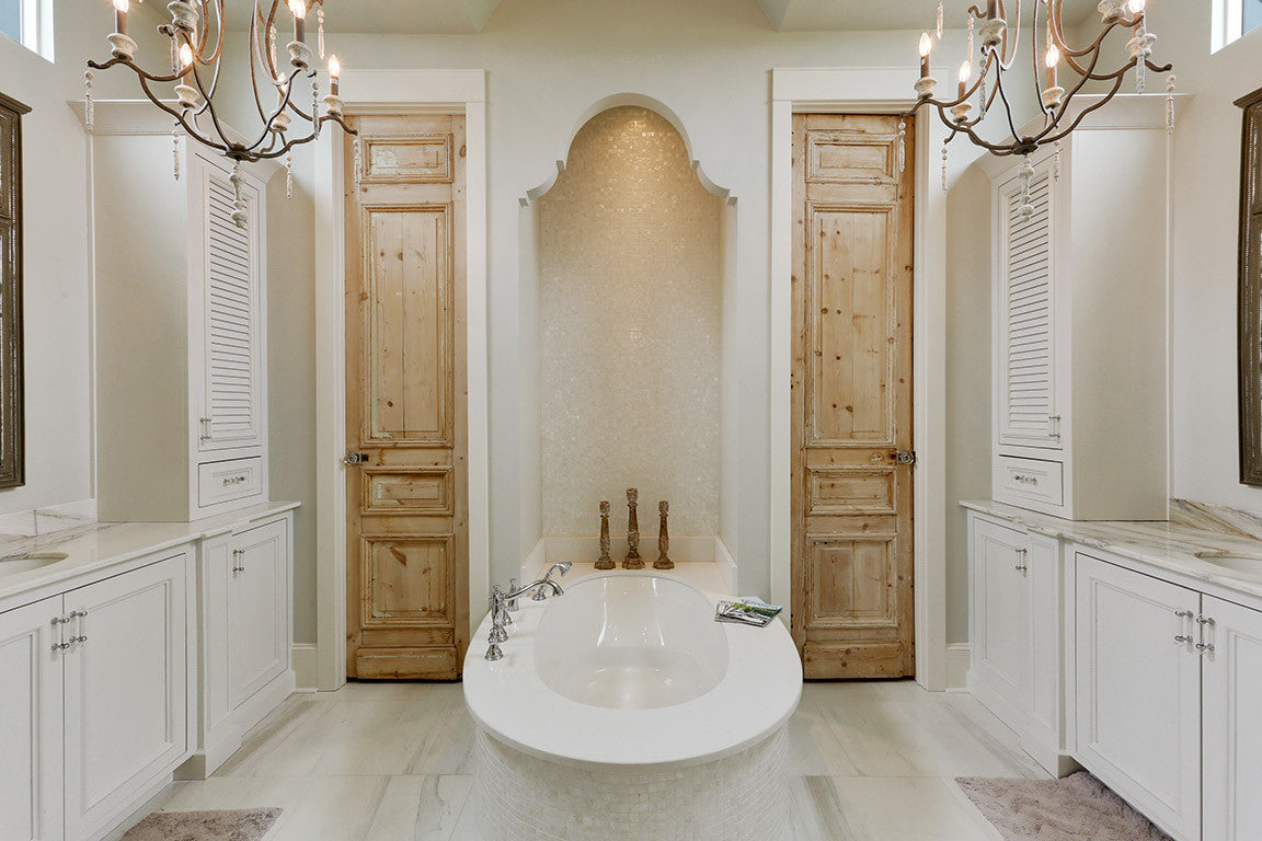 Jodi Bolgiano Custom Interiors Transitional Master Bathroom