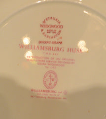 Wedgwood Williams-burg Husk, 63 Piece, Service for 8