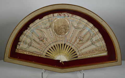Framed 18th Century Fan