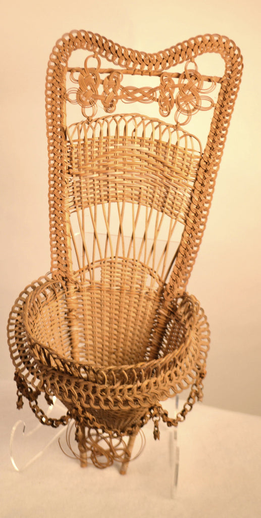 Wicker Work Basket