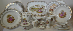 118 Pieces of Limoges Porcelain Dinnerware