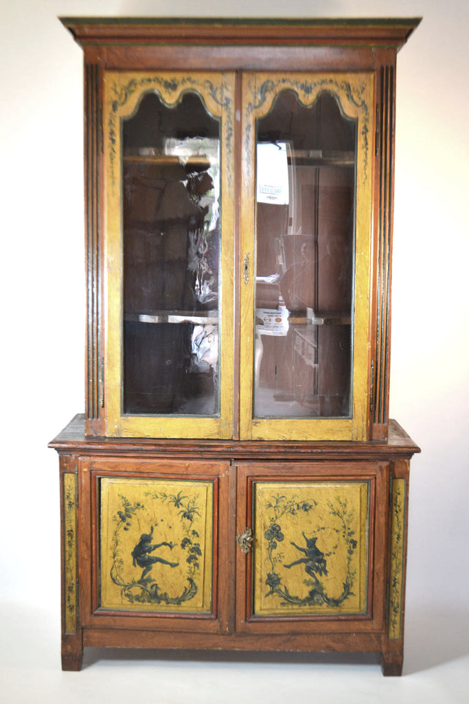 Louis XVI Painted Buffet Deux-corps