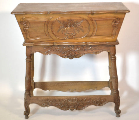 Louis XV Walnut Dough Bin
