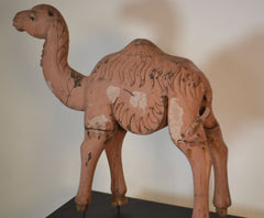 Carved Wooden Camel
