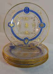 Gilt Glass Tableware
