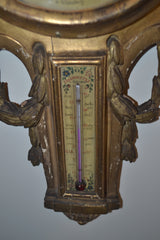 Louis XV Gilt wood Barometer