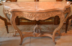 19th Century Italian, Fruitwood Console Table