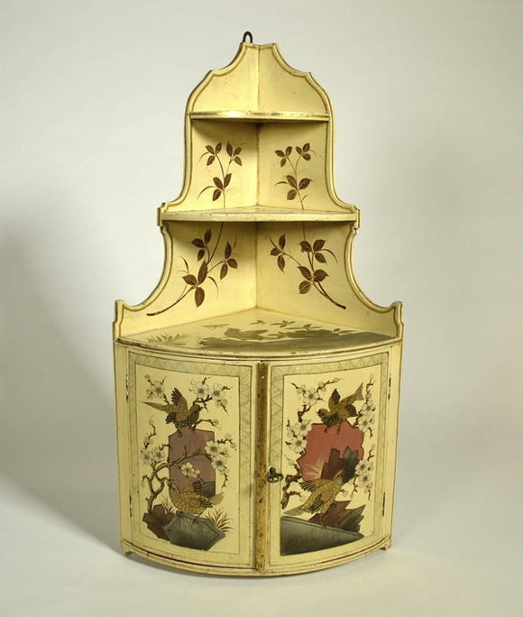 Cabinet, Lacquered Asian Design