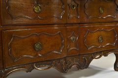 French Provincial Oak Commode