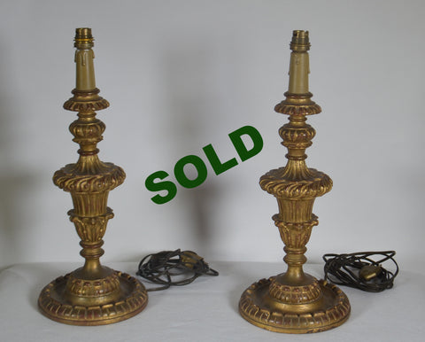 19th Century Element Lamps