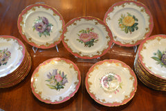 Rare Early 19th Century Paris service for 24
