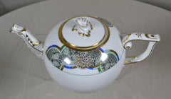 HEREND MEDALLION TEAPOT