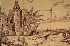 Delft Tile Panel (Landscape)