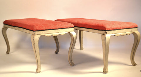 Pair Of Spanish Benches